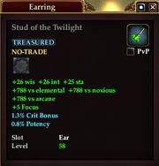Stud of the Twilight