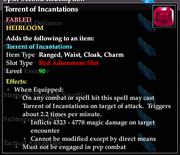 Torrent of Incantations