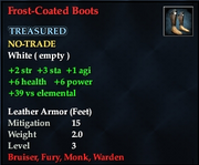 Frost-Coated Boots