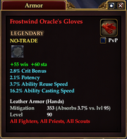 Frostwind Oracle's Gloves