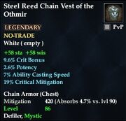 Steel Reed Chain Vest of the Othmir