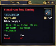Stonebrunt Stud Earring