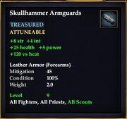 Skullhammer Armguards