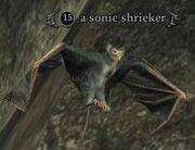 A sonic shrieker
