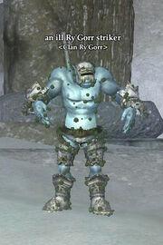 An ill Ry'Gorr striker