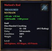 Warlord's Rod