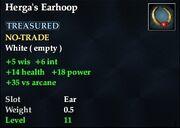 Herga's Earhoop
