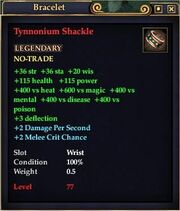 Tynnonium Shackle