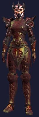 Somber Champion (Armor Set) (Visible, Female)