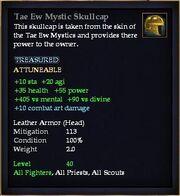 Tae Ew Mystic Skullcap