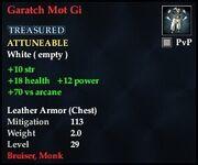 Garatch Mot Gi