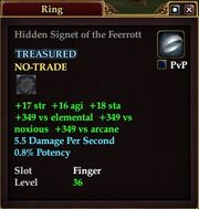 Hidden Signet of the Feerrott