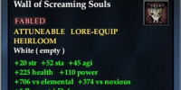 Wall of Screaming Souls