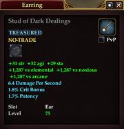 Stud of Dark Dealings