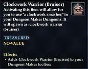 Clockwork Warrior (Bruiser)