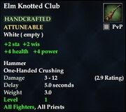 Elm Knotted Club