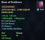 Rune of Pestilence