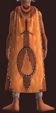 Qeynos Cloak of Protective Valor (Equipped)