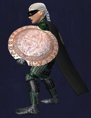 Threnodius Round Shield