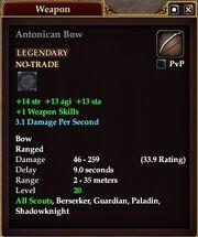Antonican Bow