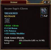 Arcane Sage's Gloves