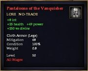 Pantaloons of the Vanquisher