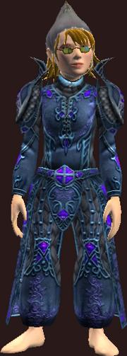 Robe of Dark Dragonsilk (Worn)