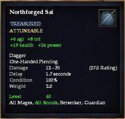 Northforged Sai