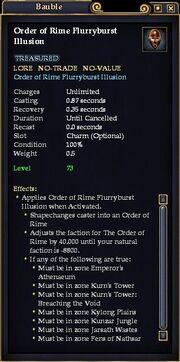 Order of Rime Flurryburst Illusion
