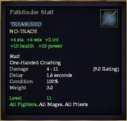 Pathfinder Staff
