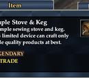Simple Stove & Keg