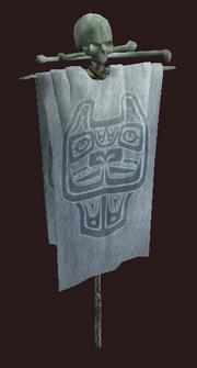 Snowfang Clan Banner (Visible)