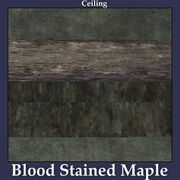 Ceiling Blood Stained Maple