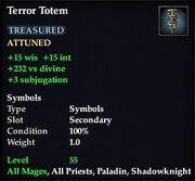 Terror Totem