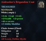 Ambusher's Brigandine Coat