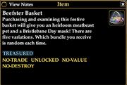Beefster Basket