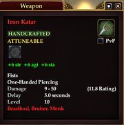 Iron Katar