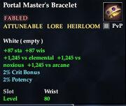 Portal Master's Bracelet