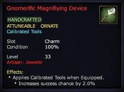 Gnomerific Magnifiying Device