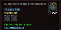 Rusty Staff of the Necromancer