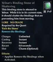 Yelnar's Binding Stone of Shattering