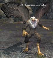 A Kragploom egg watcher