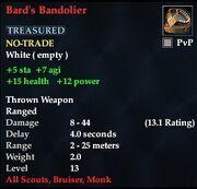 Bard's Bandolier