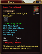 Jar of Frozen Blood