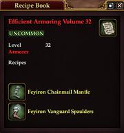 Efficient Armoring Volume 32