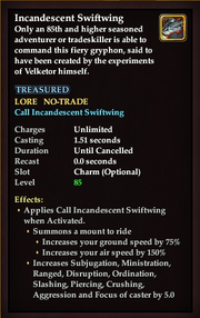 Incandescent Swiftwing Stats