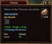 Token of the Thexian Assailant