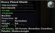 Heavy Plated Shield