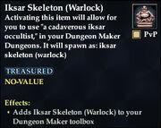 Iksar Skeleton (Warlock)