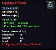 Leggings of Battle